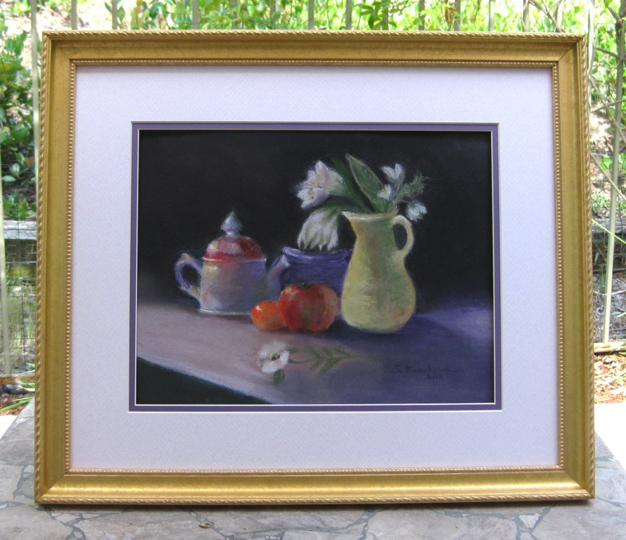 Tea Time Framed