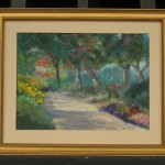 South Coast Botanical Garden Pathway (Framed)