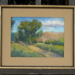 Owens Valley Road (Framed)