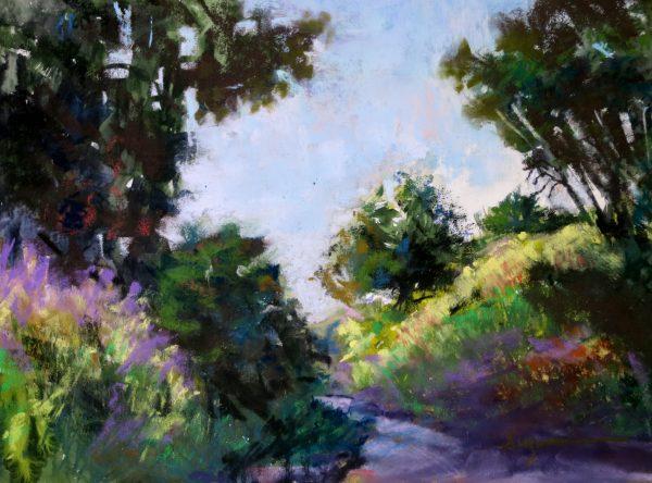 Spring Path, Kuuskme, Suzanne, Pastel, $550